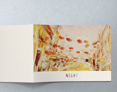 Night  -an illustrated book