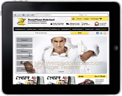 Tennis Planet (e-commerce)