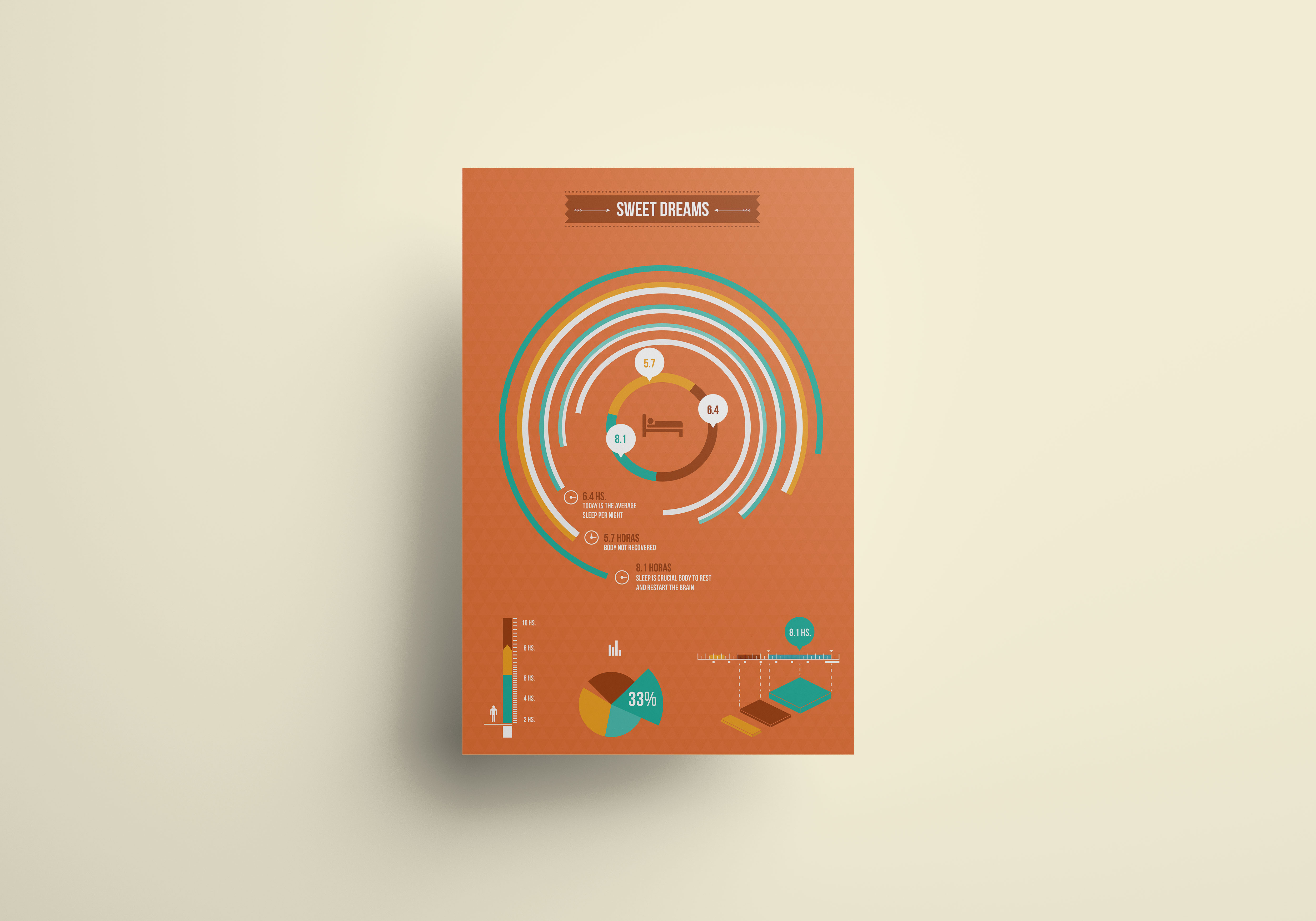 311 MILES / Conceptual Set Infographic Posters