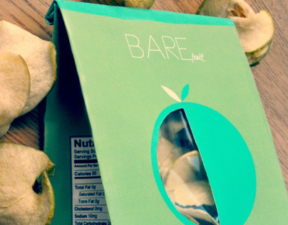 Bare Fruit Package Design Rebrand