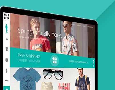 Outfitr Website & App