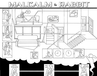 malcalm the rabbit