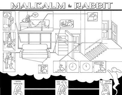 malcalm the rabbit