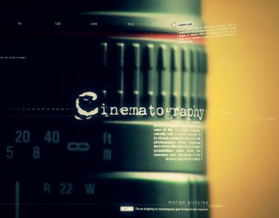 Cinematography Reel 2011