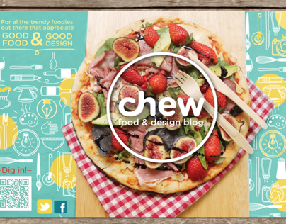 Chew Food and Design Blog