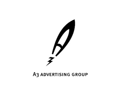 Logo for A3 Advertizing Group (2007)