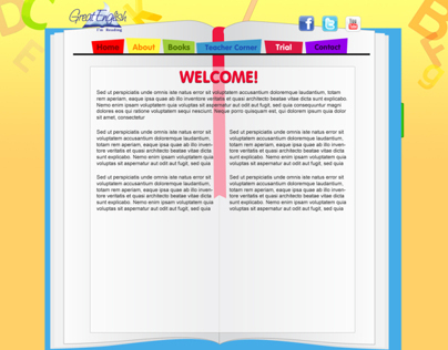 Childrens E-Learning Website Design
