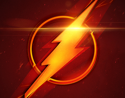 The Flash Logo - Movie Poster
