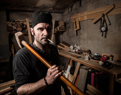 Woodworker Portrait