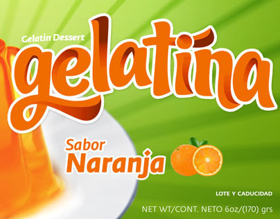 Gelatinas /Jelly · El Mexicano
