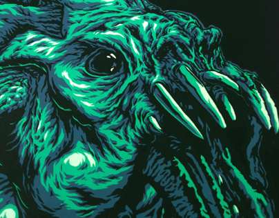 BAD ROBOT/Gallery 1988 Cloverfield poster