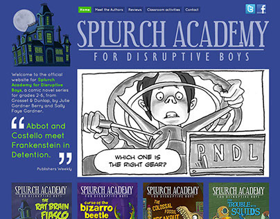 Splurch Academy web site