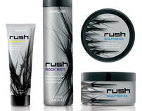 RUSH haircare products