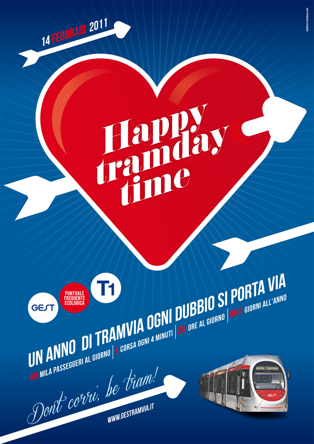 One year of Florence tramway