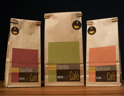 Nouveau Café - Branding