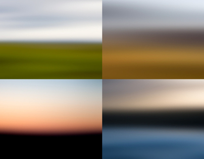 COLOR STUDIES, Iceland