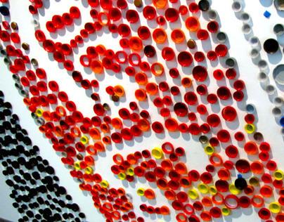 Pixilated Coca Cola
