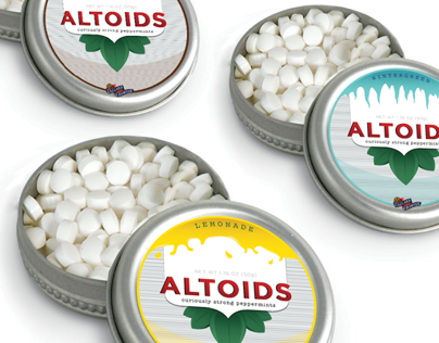 Altoids Package Design