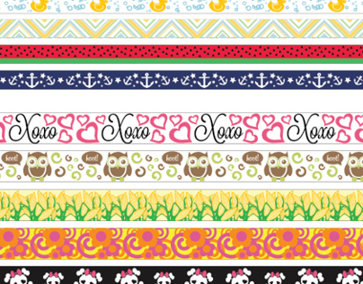 Printed Ribbon Designs 12