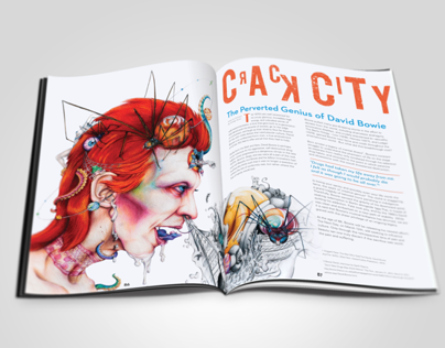 Crack City: David Bowie Editorial