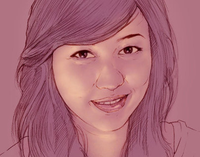 Speed Painting Dewi Wulandari