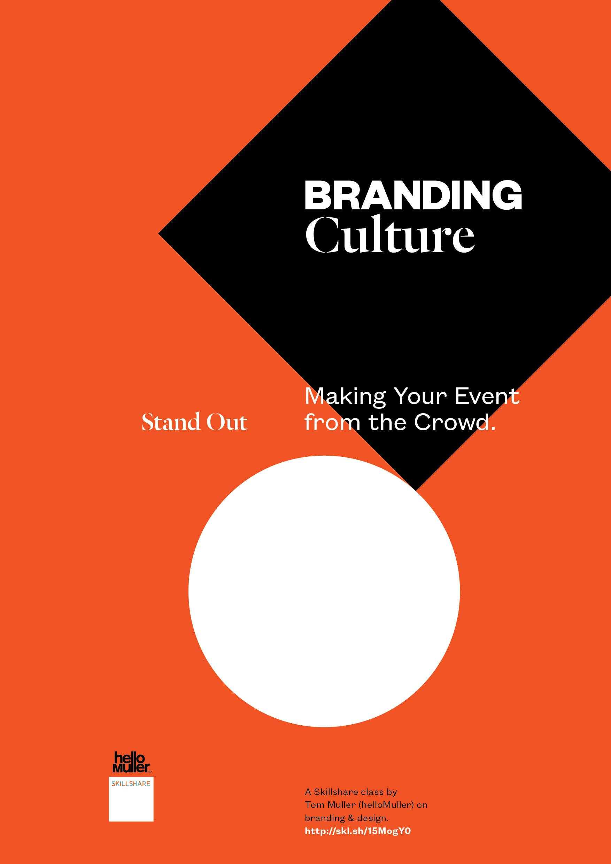 Branding Culture — a Skillshare design class.