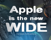 APPLE IS THE NEW WIDE