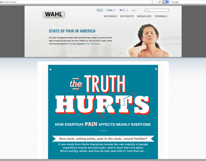 Wahl - Pain Infographic