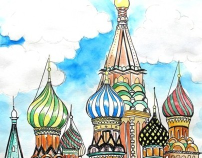 Illustrations About Russia