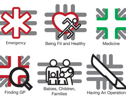 NHS Website Icons