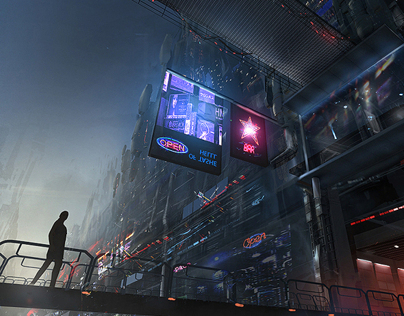 Mechacity | Concept Art
