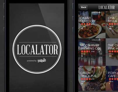Localator App | Your Local Eats Guide