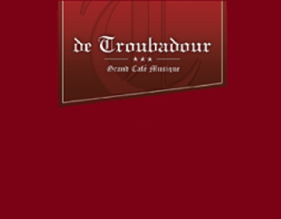DE TROUBADOUR COCKTAILKAART