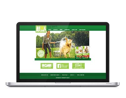 Dog Treat Site Design