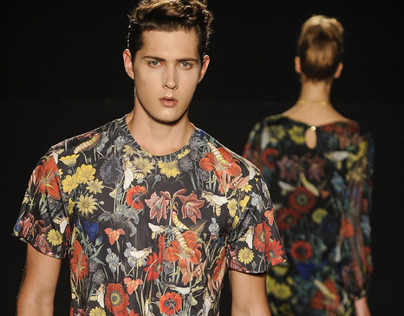Fashion Prints and Patterns - Danilo Costa Summer 2014