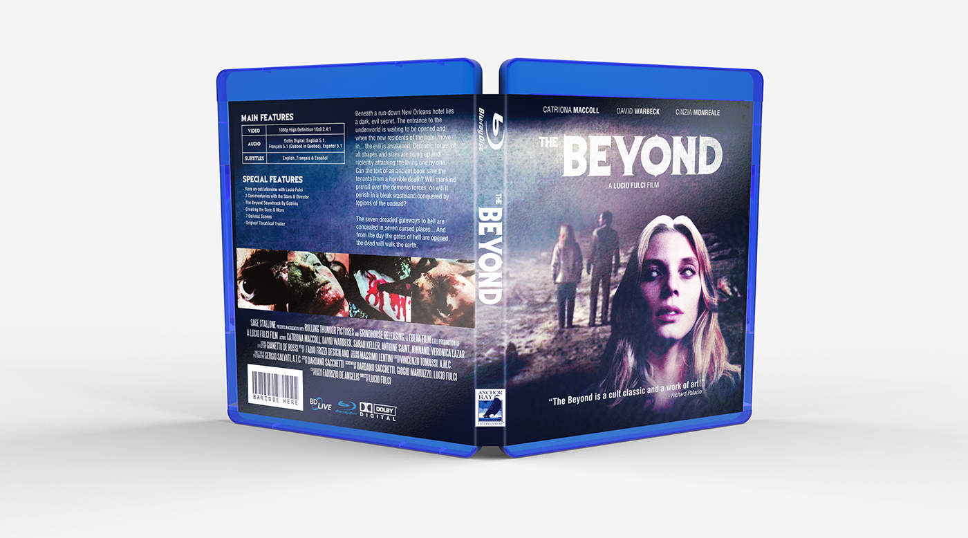 The Beyond | Blu-Ray Redesign