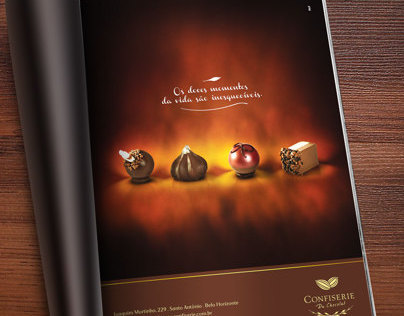 Advertising Confiserie du Chocolat