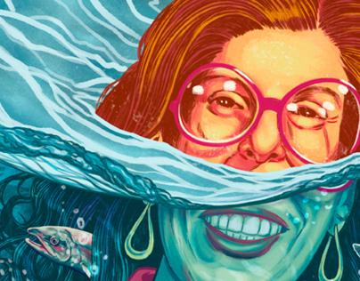 Cover for Bill Magazine | Paula Green
