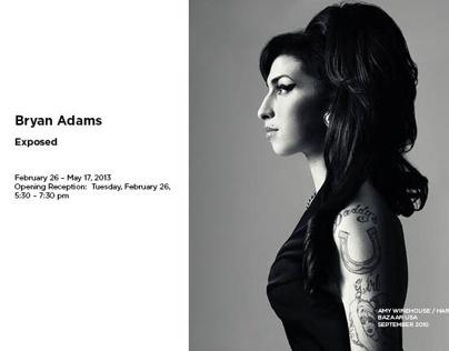 Bryan Adams Catalogue Design