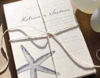 Caribbean Wedding Invitations