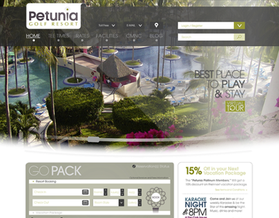 Petunia - Website Design