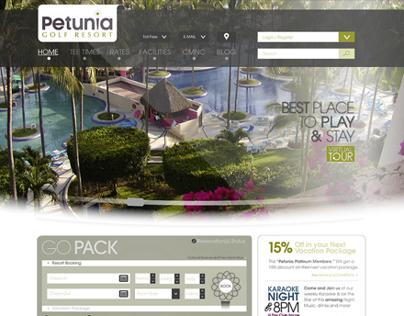 Petunia - Website Design