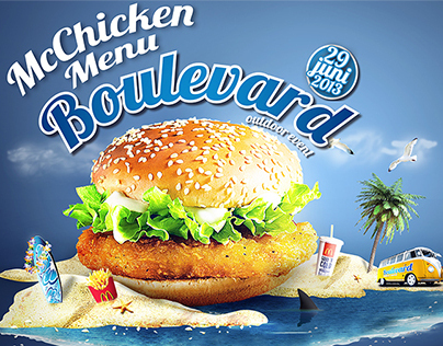 MacDonalds® Boulevard Outdoor Menu