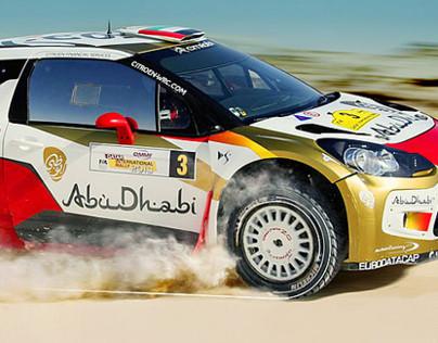 Abu Dhabi Racing Club Website Design