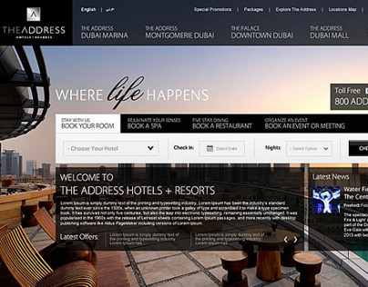 Address Hotel UAE