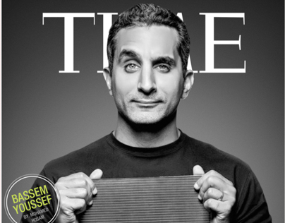 Time Magazine - Bassem Youssefs Cover
