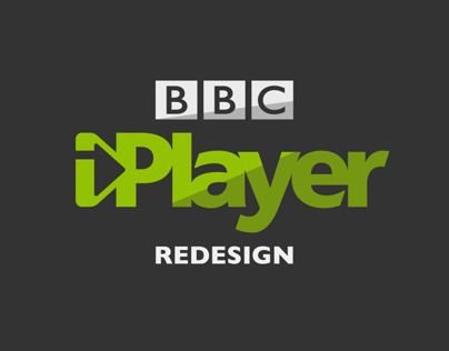 BBC iPlayer Redesign