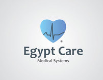 Egypt Care BRAND identity  AND LOGO DESIGN