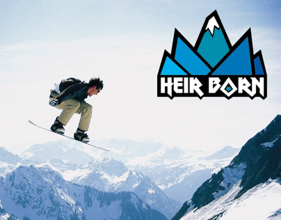 Heir Born Snowboarding