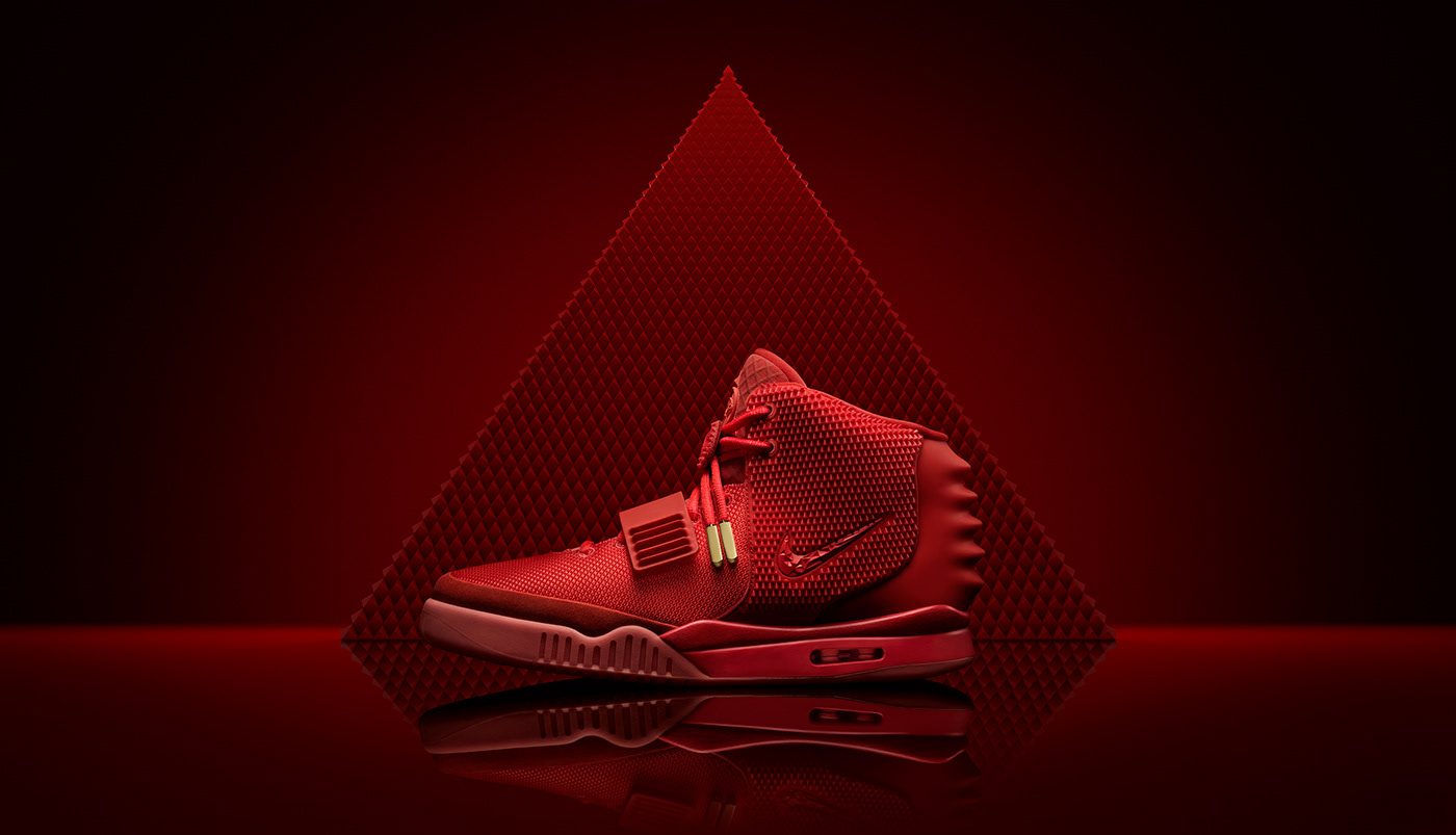 "Nike - Yeezy II ""Red Octobers"""